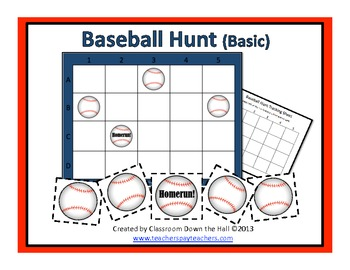 Baseball Hunt (Basic): A Grid Game