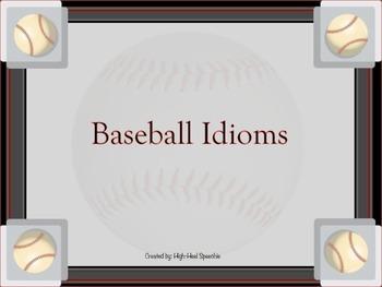 Baseball Idioms