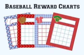 Baseball Incentive Reward Charts