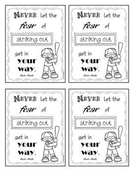 Baseball - Inspirational Quotes
