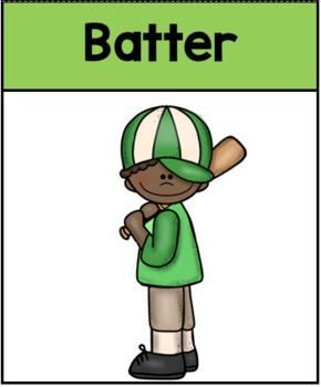 Baseball Instructional Card Set