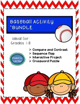 Baseball Interactive Project, Graphic Organizers, and Cros
