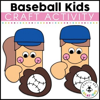 Baseball Craft {Baseball Kids}