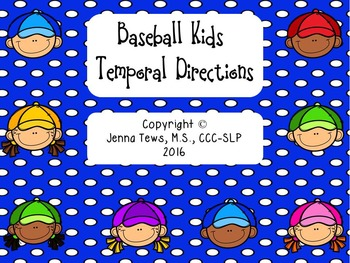 #fourleafcloversale Baseball Kids Temporal Directions