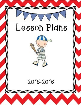 Team Lesson Plans Binder Cover