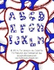 Baseball Letters Not a Font Multicolored PNG files