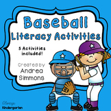 Baseball Literacy Activities