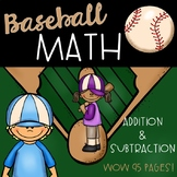 Baseball Math (Addition and Subtraction)