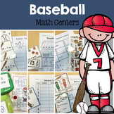 Baseball Math Center Fun- A Common Core Pack