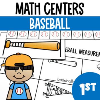 Baseball Math Center Fun- A Common Core Pack