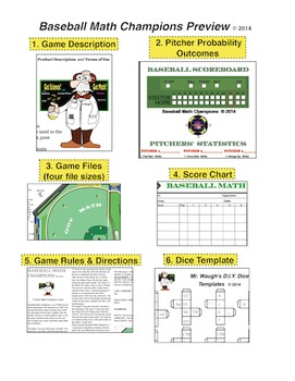 Baseball Math Champions. Competitive, Fun, Challenging