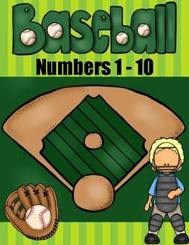 Baseball Math | Counting 1 to 10