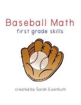 Baseball Math: First Grade Skills