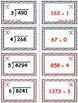 Baseball Math Skills & Learning Center (Division of 3-& 4-Digit Dividends)