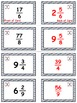 Baseball Math Skills & Learning Center (Improper Fractions & Mixed Numbers)