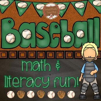 Baseball Math and Literacy Fun for the Primary Grades #pre