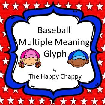 Baseball Multiple Meaning Words Glyph