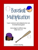 Baseball Multiplication Fact Game