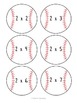Baseball Multiplication Fact Game