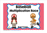 Baseball Multiplication Race