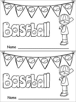 Baseball- Nonfiction Leveled Reader- Level C Kindergarten