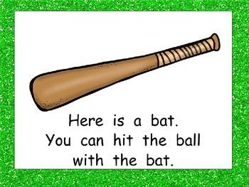 Baseball- Nonfiction Shared Reading- Level C Kindergarten Spring-Summer