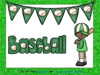 Baseball- Nonfiction Shared Reading- Level C Kindergarten
