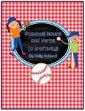Baseball Nouns & Verbs {a craftivity}