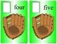 Baseball Number Catch Ten Frame - Counting 0-10 Mats - Learning Center Kit