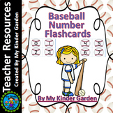 Baseball Number Flash Cards Math Numbers 0-100