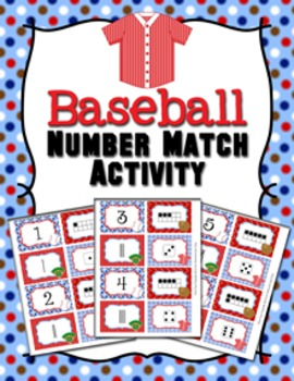 Baseball Number Match