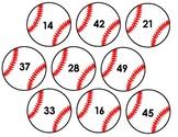 World Series Game! Baseball Numbers