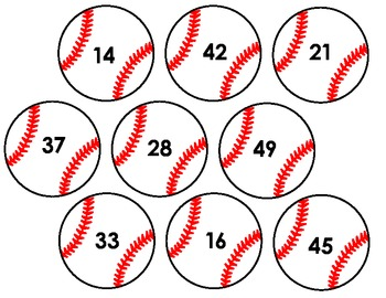 World Series Game! Baseball Numbers