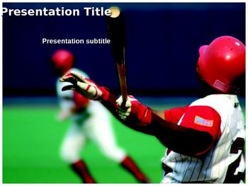 Baseball PPT Template