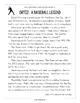 Baseball Paired Texts: Kris Bryant and David Ortiz (Grades 1-2)