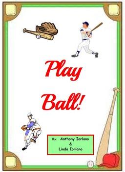 Baseball, Pennant, Bat, Glove, Word Problems, Coordinate D