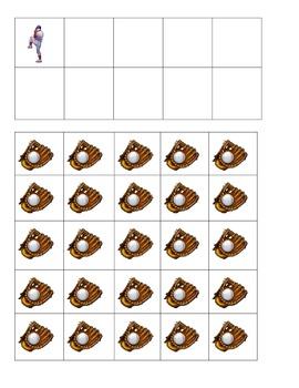 Baseball Pitcher Ten Frames Games