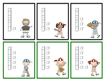 Baseball Place Value Tens and Ones