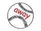 Baseball Pre-K Sight Word Game