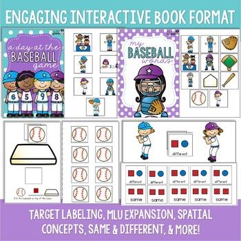 Baseball Preschool Language Unit
