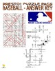 Baseball Puzzle Page (Wordsearch and Criss-Cross)