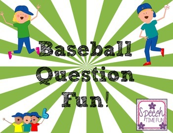 Baseball WH Question ⚾