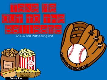 Baseball Reading and Math for Spring