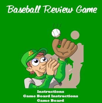 Smartboard Baseball Review Game