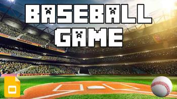 Baseball Review (Google Slides Game Template)