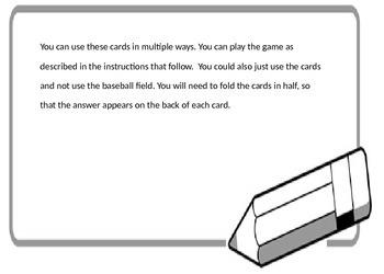 Baseball Run-on and Fragment Sentences
