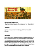 Baseball Saved Us - ELAR Unit~ ESL~ Writing~ Comprehension