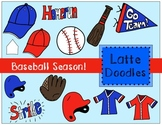 Baseball Season Clip Art {Commercial Use Included}