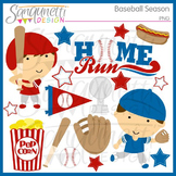 Baseball Season Clipart and Lineart