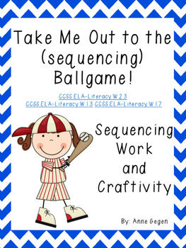 Baseball Sequencing Work and Craftivity